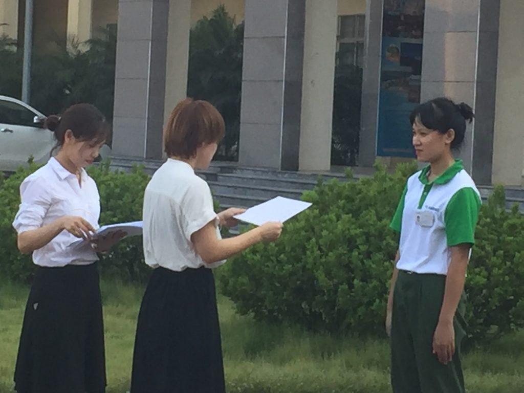 Trung tâm đào tạo Hải Phong khen thưởng học viên