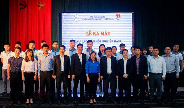 Câu lạc bộ khởi nghiệp – ĐH Nông Lâm Bắc Giang