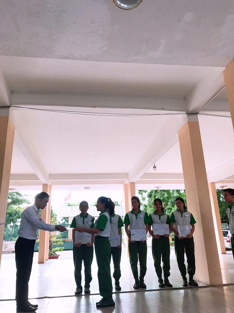 Trung tâm Đào tạo Hải Phong khen thưởng 24 học viên xuất sắc Tháng